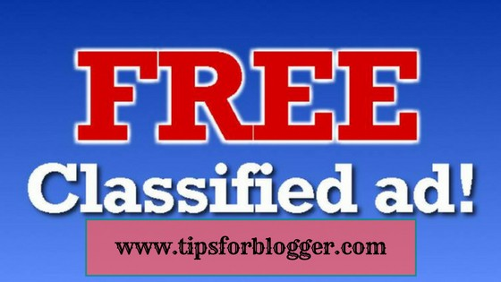 Top 50 Free Classified Ads Sites - Tips For Blogger