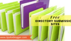 free directory submission list for seo