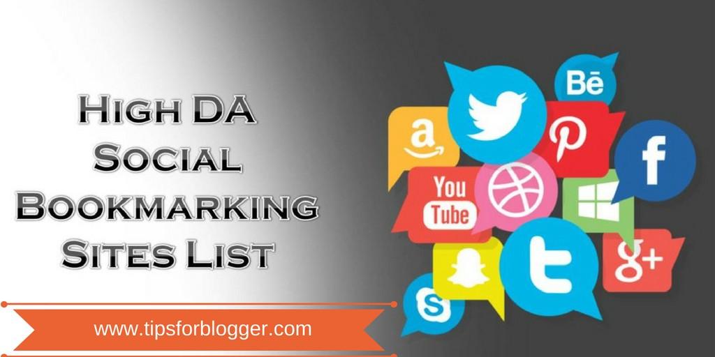 Best 40 Social Bookmarking Site List
