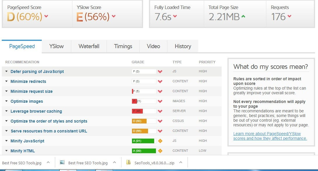 Best Free SEO Tools - Tips For Blogger